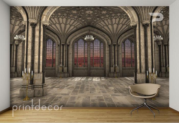 Голяма зала в замък