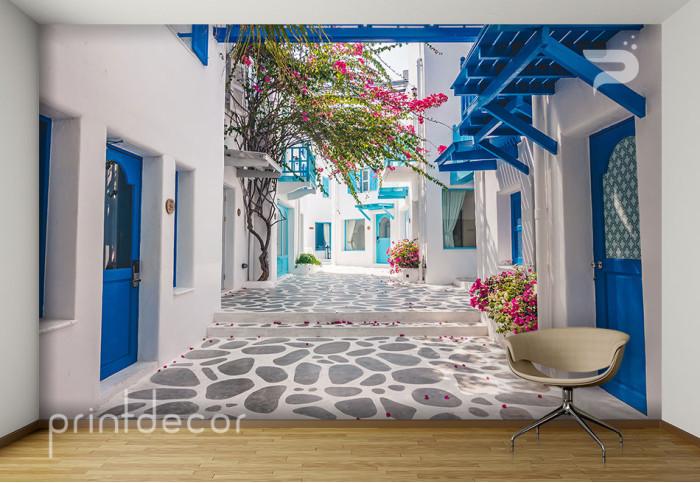 Белите улици на Миконос