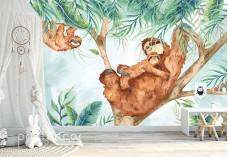 Майка ленивец с бебе