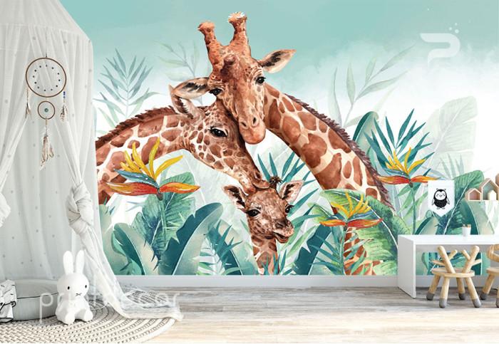Семейство жирафи