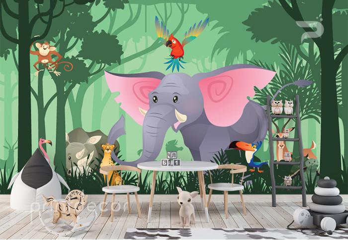 Животни в джунглата