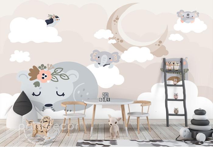 Животни в облаците