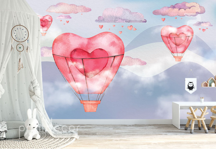 Розовите балони