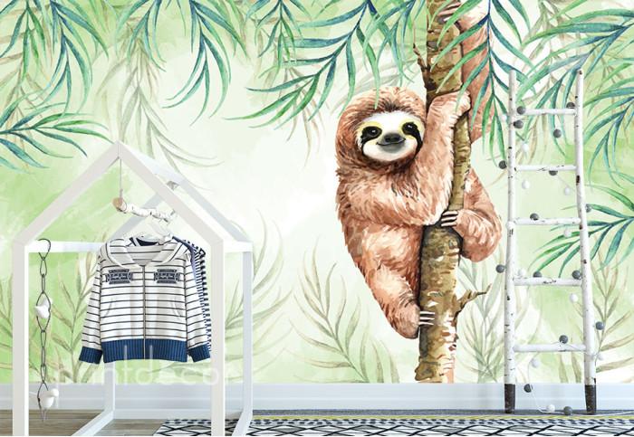 Ленивец на дърво