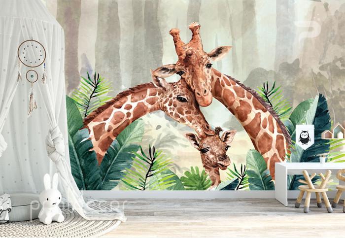 Жирафи в джунглата