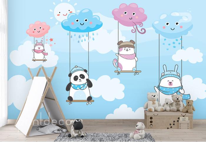 Веселие в облаците
