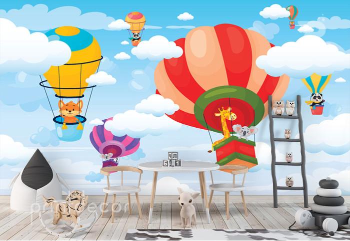 Разноцветни балони
