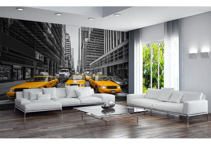 Фототапет  Такситата на Ню Йорк