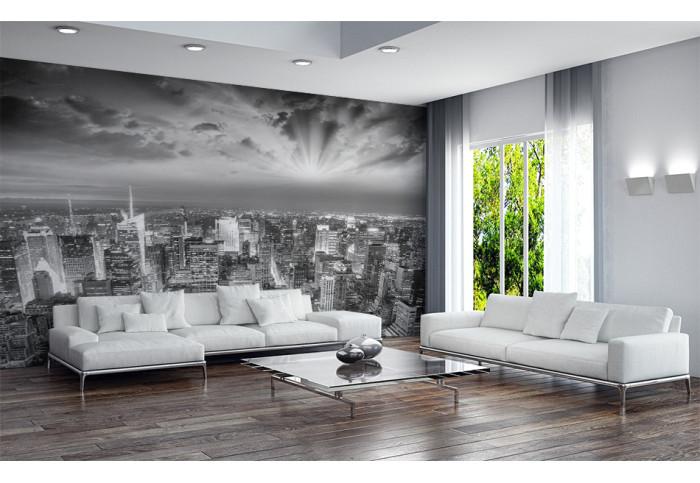 Фототапет  Ню Йорк в черно и бяло