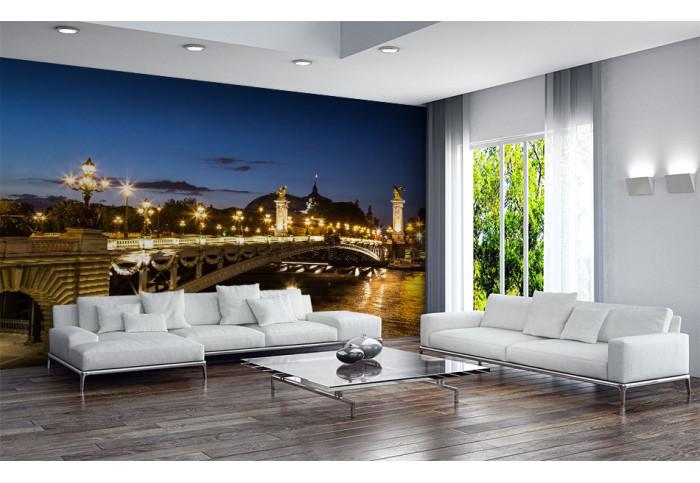 Фототапет Париж мостът Александър III