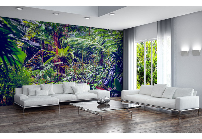Фототапет В джунглата