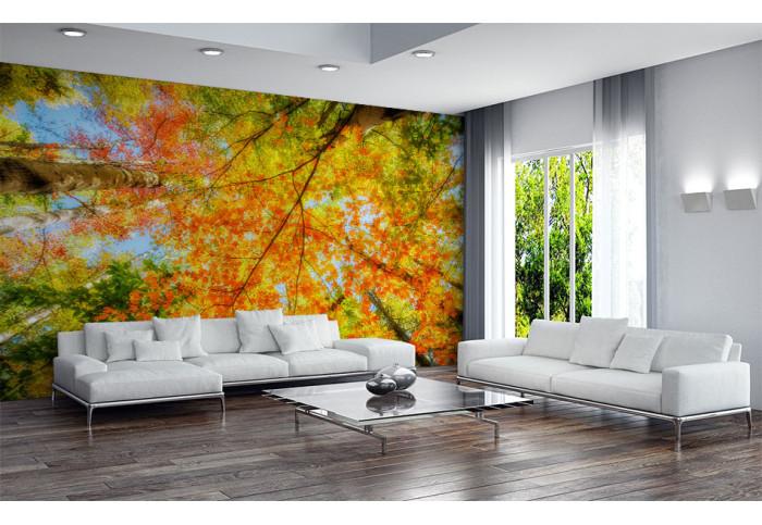 Фототапет Есенна гора