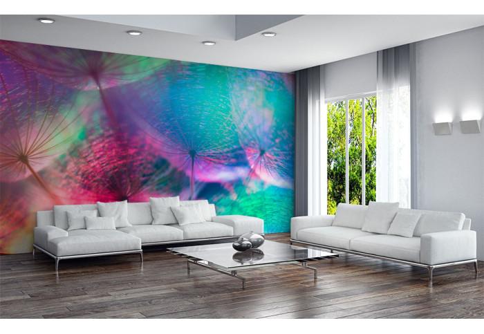 Фототапет Абстракция разноцветно глухарче