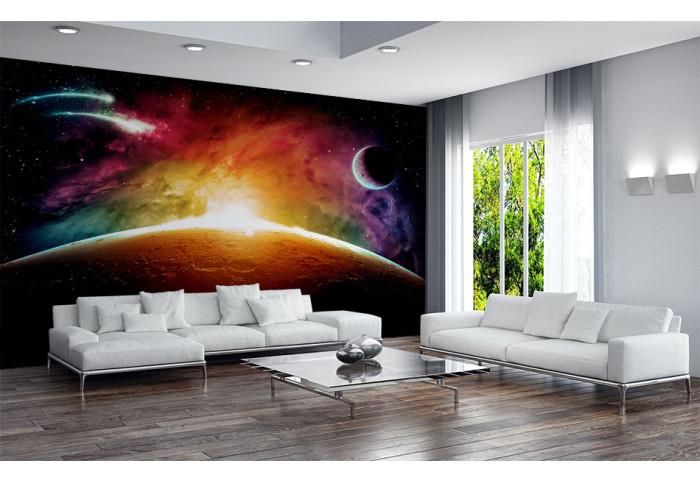 Фототапет Астероиден сблъсък