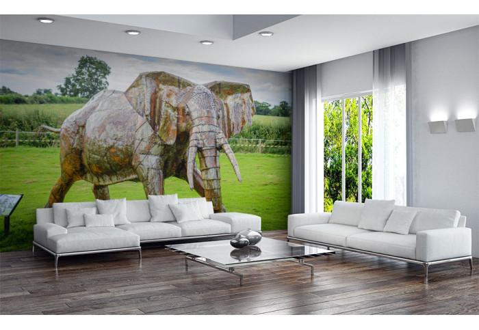 Фототапет Скулптура слон