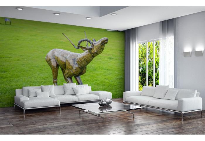 Фототапет Скулптура антилопа