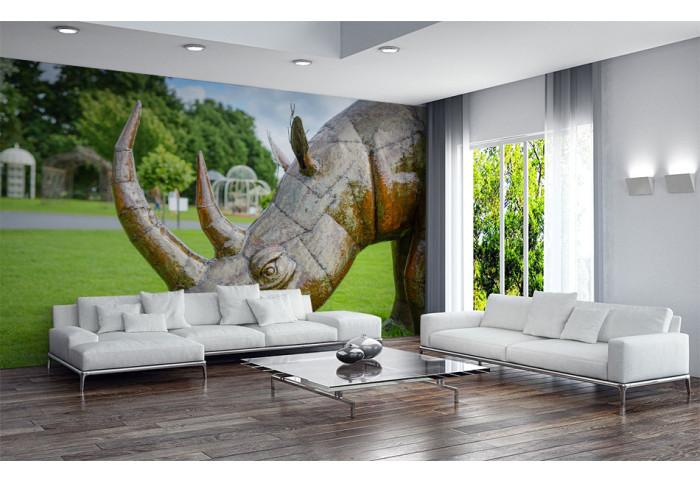 Фототапет Скулптура носорог