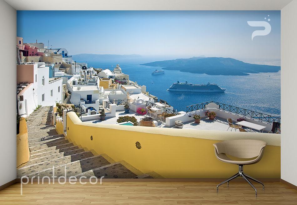 Фототапет Санторини Гърция