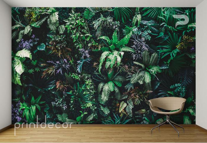 Стена от зеленина