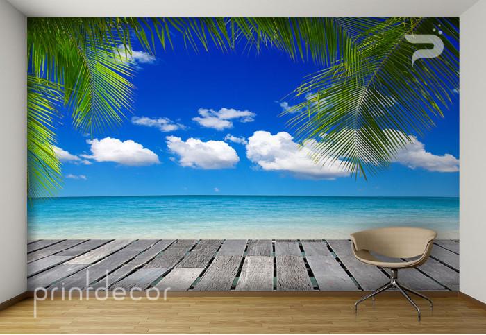 Веранда край плажа