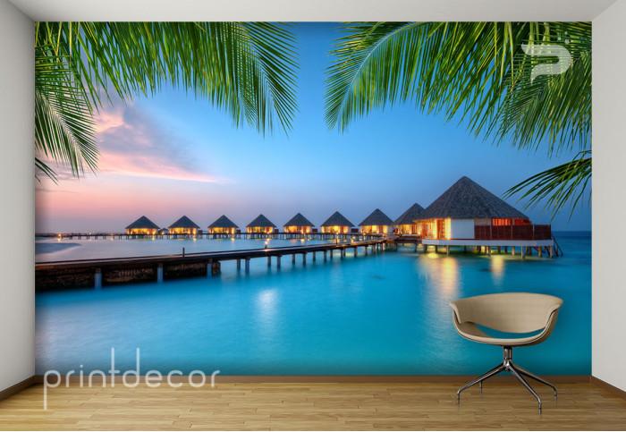 Залез над Малдивите