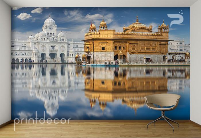 Златният храм в Индия